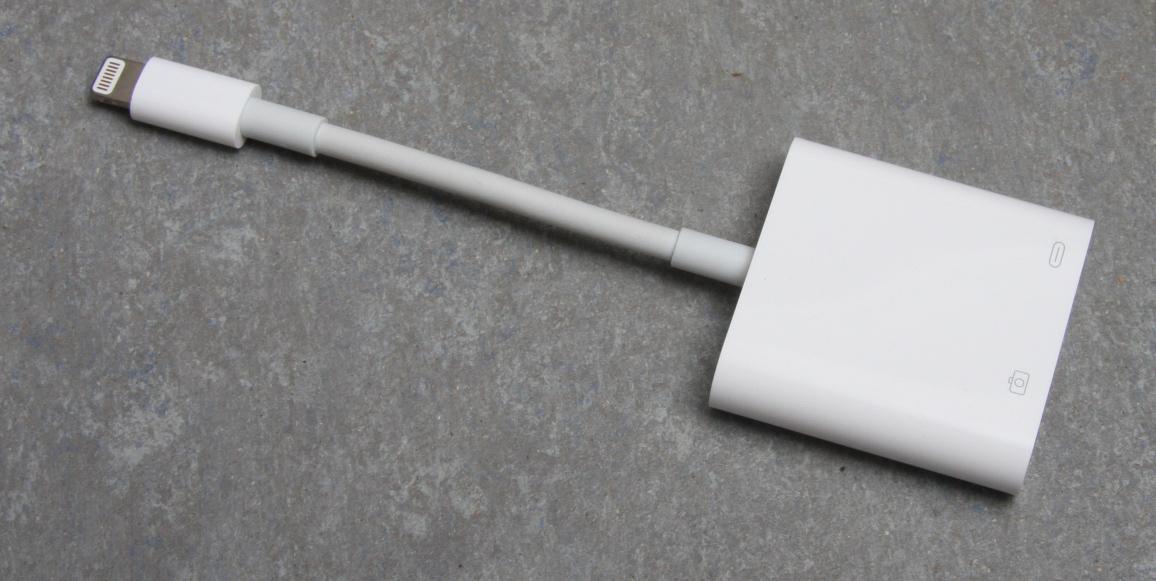 Lightning auf USB 3 Kamera-Adapter