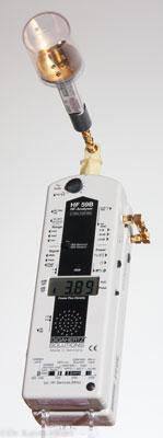 Hochfrequenzmessgerät mit quasi-isotroper Antenne